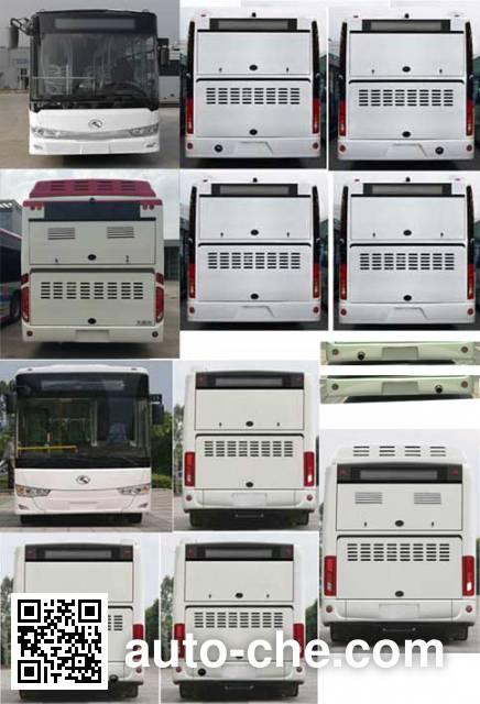 King Long XMQ6106AGHEV15 hybrid city bus