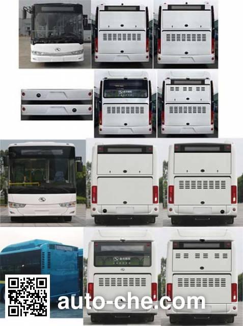 金龙牌XMQ6119AGCHEVN53混合动力城市客车
