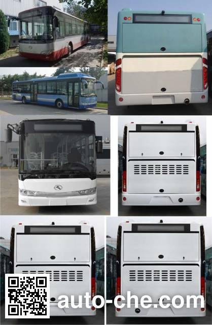 金龙牌XMQ6127AGPHEVN51混合动力城市客车