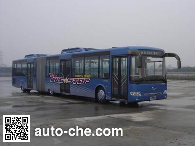 金龙牌XMQ6180AGD5铰接城市客车