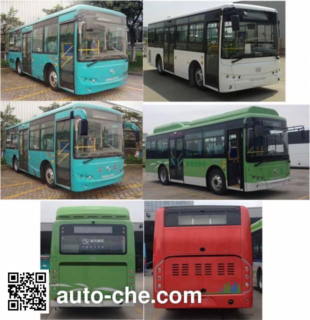 金龙牌XMQ6802AGCHEVD53混合动力城市客车
