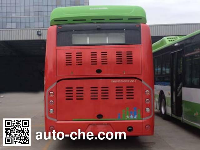金龙牌XMQ6802AGCHEVN51混合动力城市客车