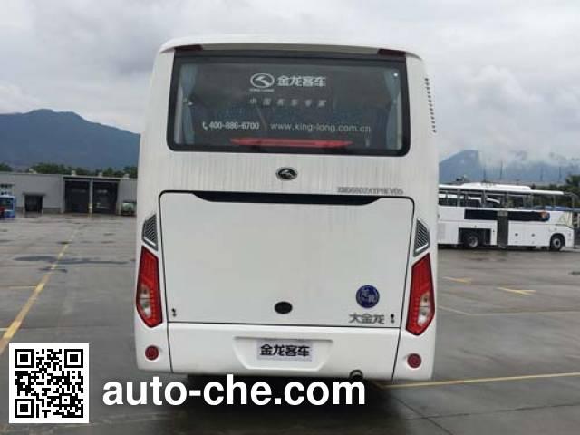 King Long XMQ6802AYPHEVD5 hybrid bus