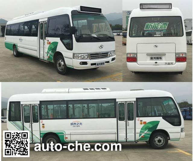 King Long XMQ6806AGBEVL electric city bus