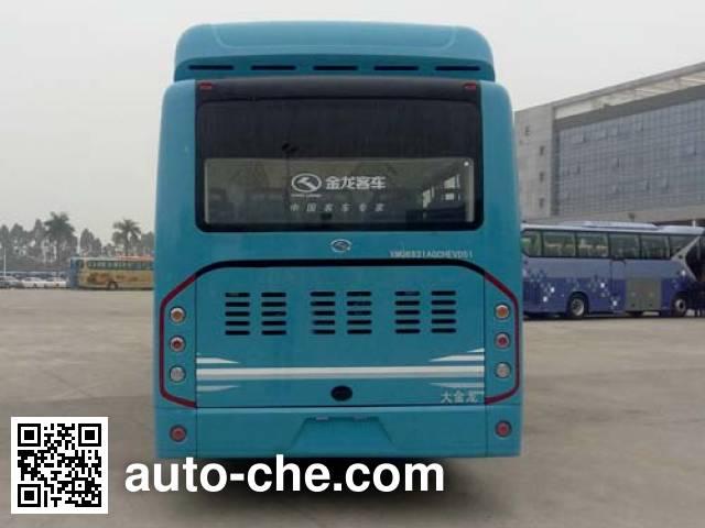 King Long XMQ6931AGCHEVD51 hybrid city bus