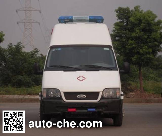 Jinnan XQX5040XYL medical vehicle