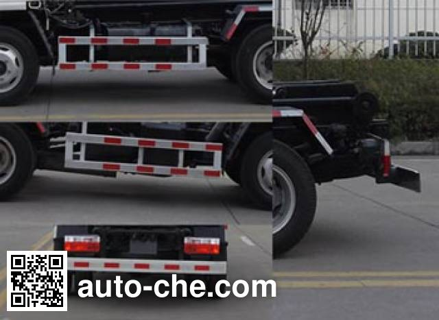 Jinnan XQX5040ZXX4DFA detachable body garbage truck