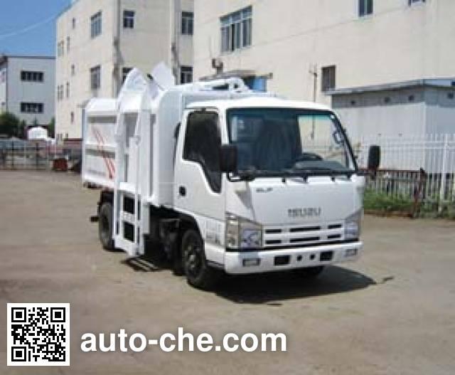Jinnan XQX5040ZZZ4QL self-loading garbage truck