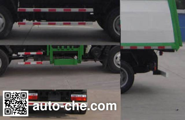Jinnan XQX5041ZZZ4DFA self-loading garbage truck