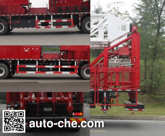 Xishi XSJ5460TXJ110 well-workover rig truck