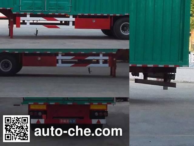 Nisheng XSQ9400XXYE box body van trailer