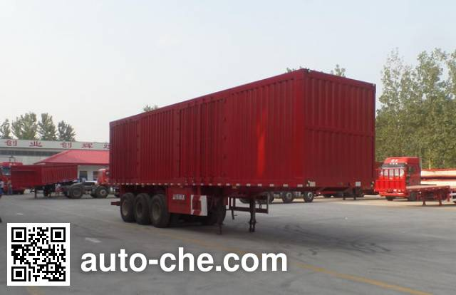 Nisheng XSQ9402XXY box body van trailer