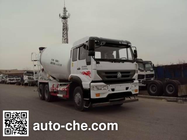 仙达牌XT5250GJBWZ42G4混凝土搅拌运输车