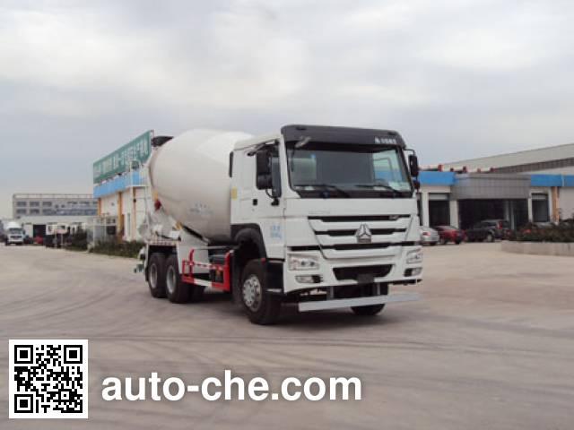 唐鸿重工牌XT5250GJBZZ40G5混凝土搅拌运输车
