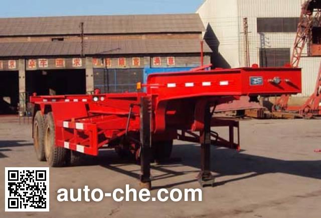 Xianda XT9350TJZG container transport trailer