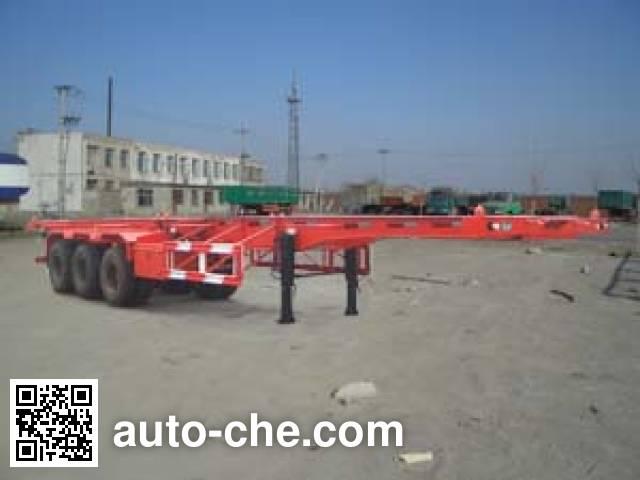 Xianda XT9360TJZG container transport skeletal trailer