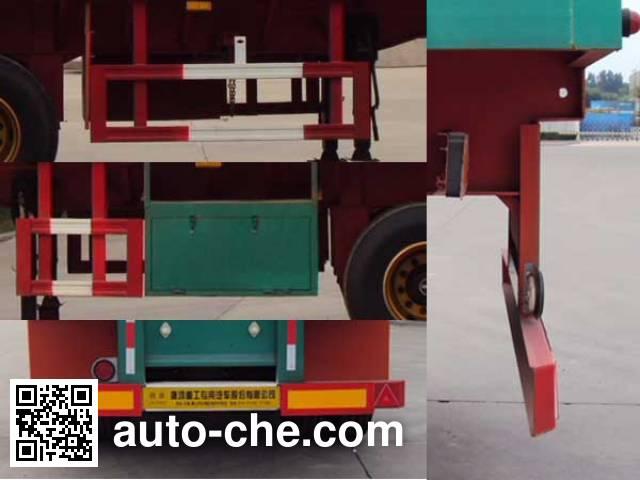 Tanghong XT9402P flatbed trailer