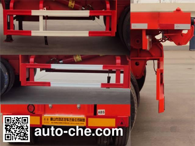 唐鸿重工牌XT9405ZZXPD平板自卸半挂车