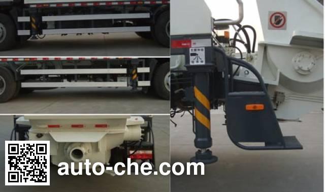 Tiand XTD5140THB truck mounted concrete pump