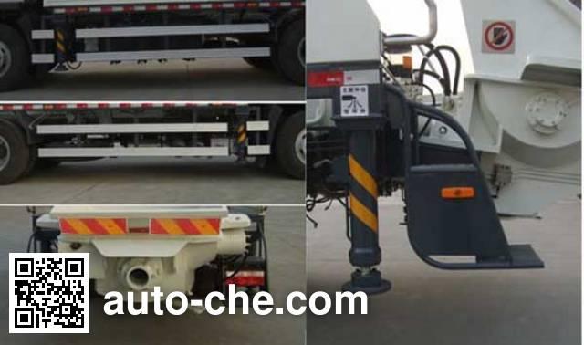 鑫天地重工牌XTD5140THB车载式混凝土泵车