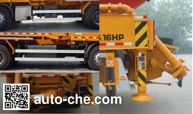 鑫天地重工牌XTD5410THB混凝土泵车
