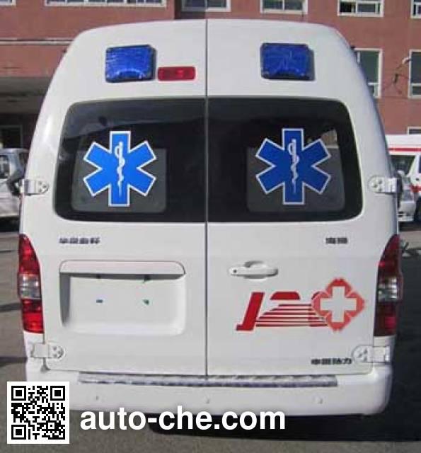 新阳牌XY5033XJH救护车