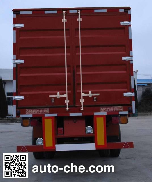 Xingyang XYZ9282XXY box body van trailer