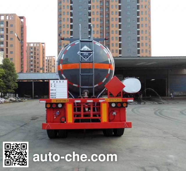 兴扬牌XYZ9401GFW腐蚀性物品罐式运输半挂车