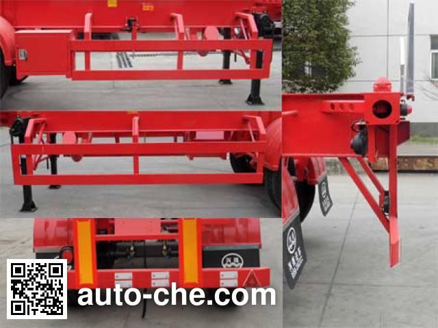 Xingyang XYZ9401TWYAD dangerous goods tank container skeletal trailer