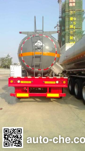 Xingyang XYZ9402GFW corrosive materials transport tank trailer