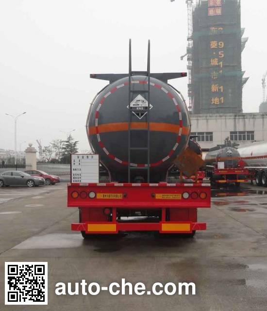 兴扬牌XYZ9403GFW腐蚀性物品罐式运输半挂车