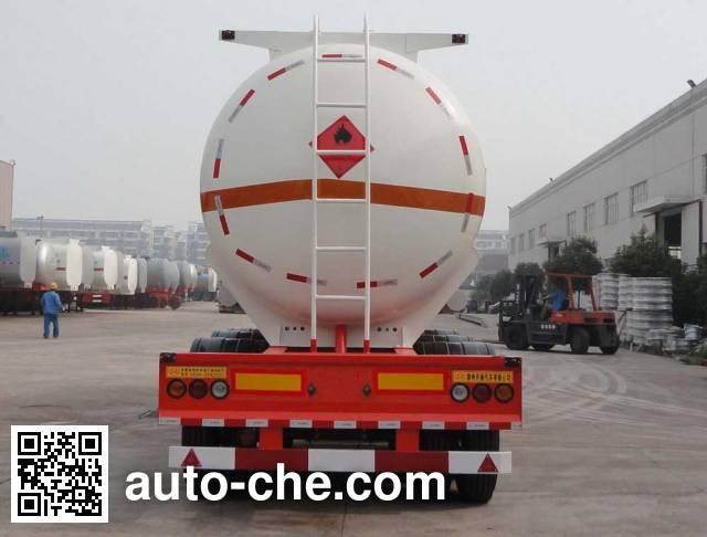 Xingyang XYZ9404GRY flammable liquid tank trailer