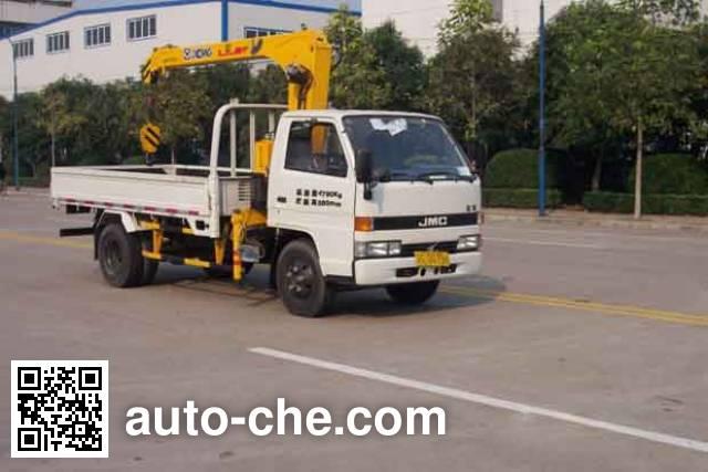 XCMG XZJ5041JSQL4 truck mounted loader crane