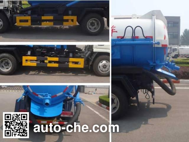 XCMG XZJ5070GXWD4 sewage suction truck
