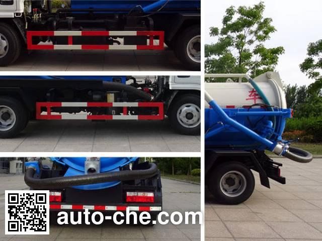 XCMG XZJ5070GXWD5 sewage suction truck