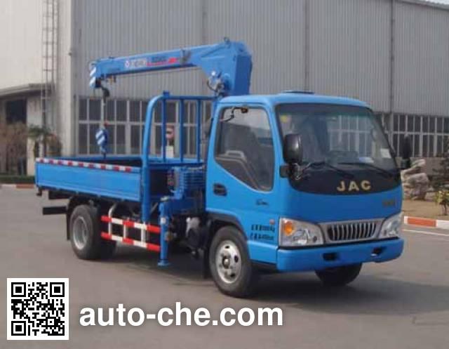 徐工牌XZJ5070JSQH4随车起重运输车