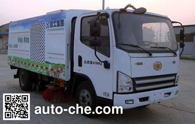 XCMG XZJ5080TSLCBEV electric street sweeper truck