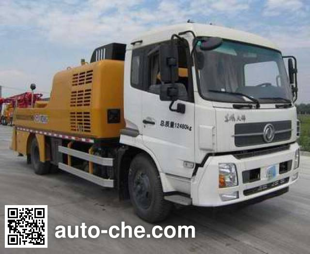 徐工牌XZJ5121THB车载式混凝土泵车