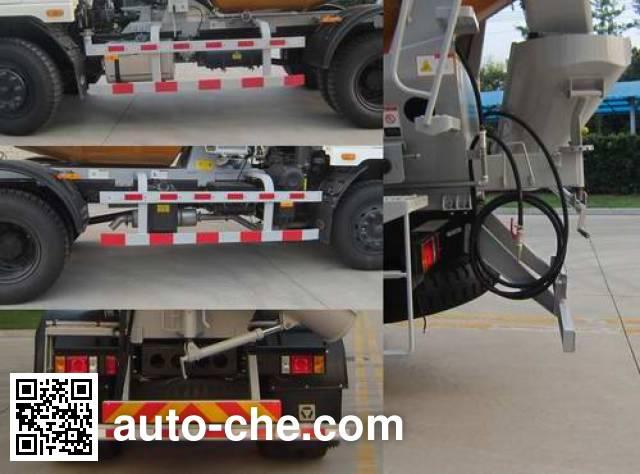 徐工牌XZJ5160GJBA8混凝土搅拌运输车
