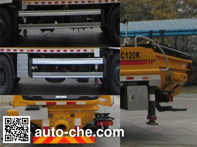 XCMG XZJ5160THB truck mounted concrete pump