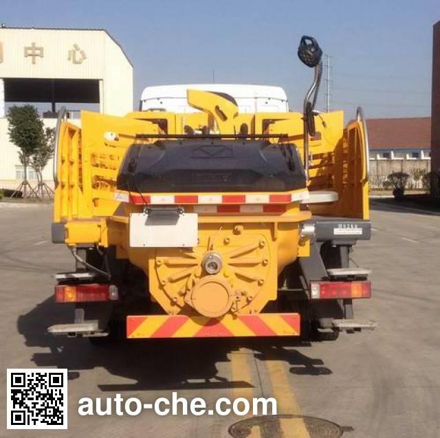 徐工牌XZJ5161THB车载式混凝土泵车