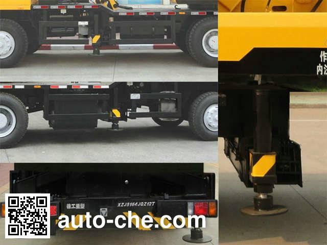 XCMG XZJ5164JQZ12T truck crane