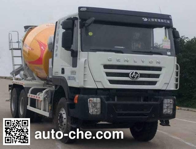徐工牌XZJ5250GJBA6混凝土搅拌运输车