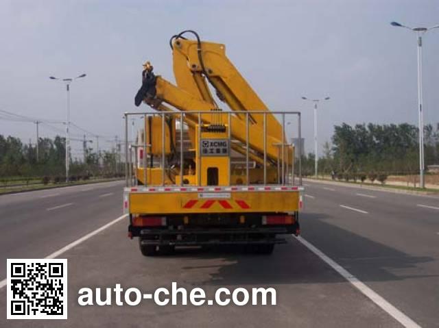 XCMG XZJ5250JJH weight testing truck