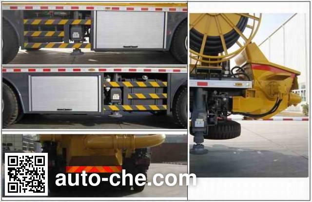 XCMG XZJ5260TPJ concrete spraying truck