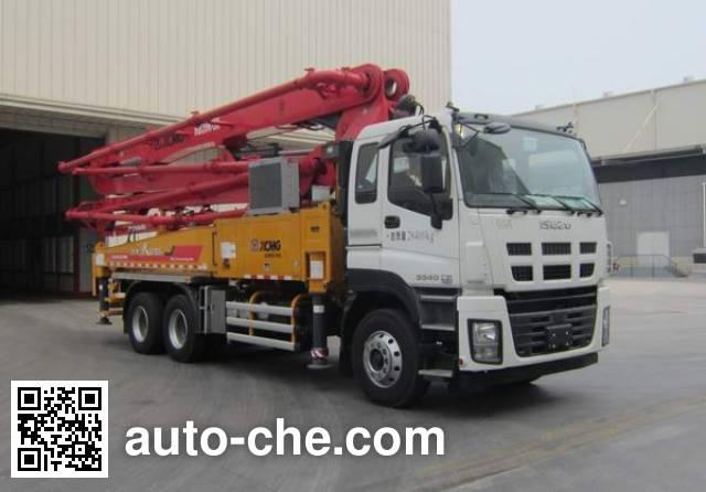 徐工牌XZJ5280THBW混凝土泵车
