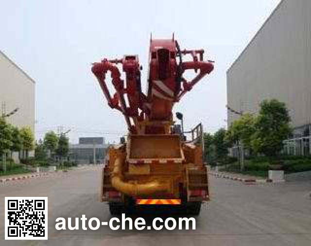 徐工牌XZJ5290THB混凝土泵车