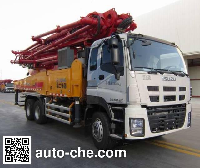 徐工牌XZJ5330THBW混凝土泵车