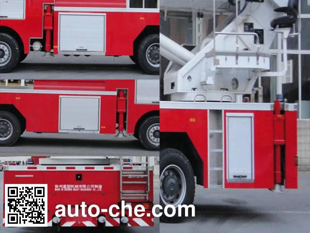 XCMG XZJ5420JXFJP72 high lift pump fire engine