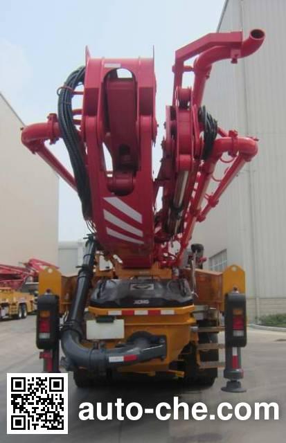XCMG XZJ5420THBW concrete pump truck